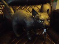 Halloween Black Cat Decoration SPIRIT STORE with Original Tag Kitty Latex Prop