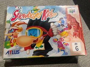 Snowboard Kids Nintendo 64 Boxed Game