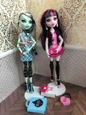 Killer Style Draculaura Frankie Stein Fashion Pack Monster High Doll Lot