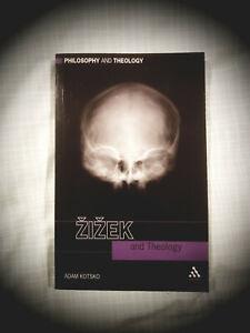 ZIZEK AND THEOLOGY: Adam Kotsko -- VERY GOOD paperback