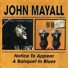 John Mayall - Notice to Appear/Banquet in Blues [New CD] UK - Import