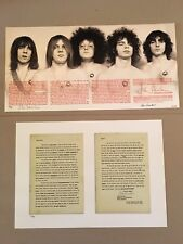 RARE MC5 Liner Notes & Unsensored Gatefold Leni John Sinclair S/N COA 2 Prints
