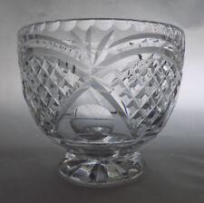 Bowl Clear Crystal Webb Corbett Crystal & Cut Glass