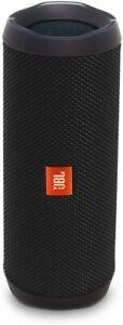 JBL Flip 4 Portable Waterproof Bluetooth Speaker with Aux Black - Recertified!