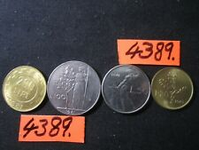 4  x  assorted  COINS 1981   Mar4389  ITALY  36gms