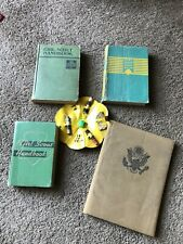 Vintage Girl Scout Handbooks And Other Items 1930 1940s Lot