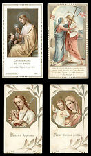 lotto santini-holy cards lot-lot images pieuses-konvolut heiligenbildichen 1864