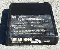 Uriah Heep - High and Mighty 8 TRACK CASSETTE TAPE classic rock album M8-2949