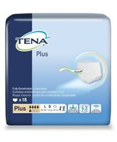 TENA Plus Protective Underwear, LARGE,  Heavy Absorbency, 72338 - Pack of 18