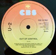 "U2 - Out Of Control (Three) - Irish CBS 12"" - Rare 3rd Pressing (Vinyl Record)"