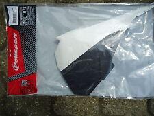Polisport Luftfilterdeckel links - Airfilter box cover white KTM SX 85 2013