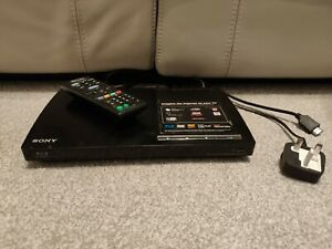 Sony BDP-S185 Blu Ray Player & DVD Upscaling with Remote Control - Free P&P