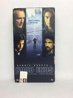 Road Ends VHS 1997 Dennis Hopper Peter Coyote Chris Sarandon Thriller Rare OOP