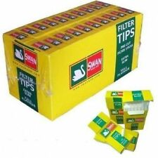 Swan Cigarette Extra Slim Filter Tips Box ( 20x120=2400 Tips)