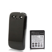 Samsung Galaxy S3 i9300 Power Akku Batterie 4300mAh Bumper Cover schwarz