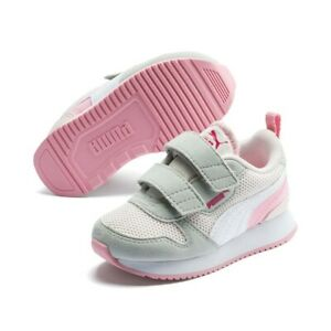 Puma R78 V Inf Unisex Baby Kinder Sneaker Low Top Turnschuhe 373618 Rosewater