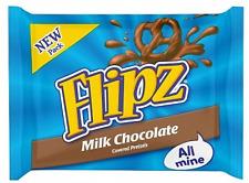 Flipz Milk Chocolate Pretzel Ricoperto di Cioccolato Al Latte 37gr
