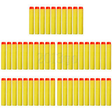 7.2X1.2cm Gun Refill Bullet Darts for Nerf N-strike Blasters Yellow Hot Sell YG