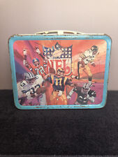 Vintage 1978 Nfl Football King-Sealy Thermos Co. Metal Lunchbox (No Thermos)