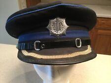 Dutch Holland Police Visor Hat Cap Vigilat Ut Quiescant Watching The Rest