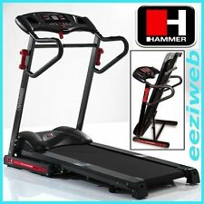 HAMMER RPE TREADMILL GERMAN BRAND, 2YR COVER, FREE DUMBBELLS, £600 ON AMAZON!