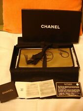 AUTHENTIC CHANEL CLASSIC Light Tan Hand Purse