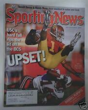 PATRICK TURNER USC TROJANS Football 2007 SPORTING NEWS MAGAZINE