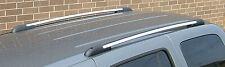 "Perrycraft 65"" Chrome Roof Side Rails Cargo Luggage Skis Canoe Storage"