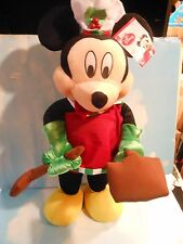 """Giant Mickey Mouse Soft Doll Standing..25"""" Tall..No Box Excellent Condition"""