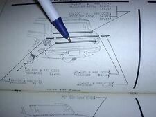 1962 AMC RAMBLER CLASSIC & AMBASSADOR STATION WAGON TAIL GATE MOULDING LOWER NOS