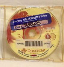 Shenmue (Sega Dreamcast, 2000) Disc 2 Only