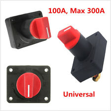 New Car Boat 100A Battery Disconnect Rotary Isolator Cut Off Kill Switch Control