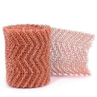 2X(4 Wires Pure Copper Mesh Woven Filter Sanitary For Distillation Moonshin6R9)