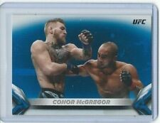 2018 TOPPS UFC KNOCKOUT BLUE PARALLEL #/99 CONOR McGREGOR! MMA