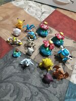 Lot of 16 Pokemon Figures lot Tomy and more sold as is