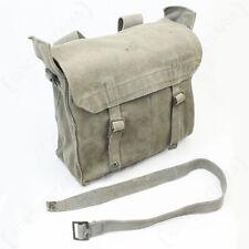 Original BRITISH ARMY 37 PATTERN WW2 SMALL PACK - Grey Canvas Shoulder Strap Bag
