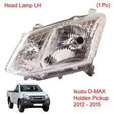 Head Light Front Lamp LH 1 Pc Fit Isuzu D-MAX Holden UTE Pickup 2012 - 2015