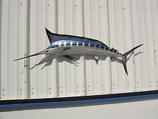 "59"" Blue Marlin Half Mount Fish Replica"