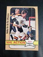 1972-73 O-Pee-Chee #58 Bobby Orr NHL Action Boston Bruins