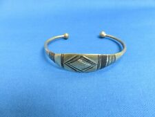In Stock Tuareg Silver Bracelet E African Ethnic Jewelry Gold Tone New Design