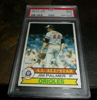 1979 OPC O-pee-chee by Topps #174 JIM PALMER Baltimore Orioles HOF PSA 9 MINT