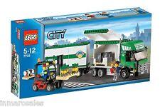 Lego 7733 Camión y carretilla elevadora