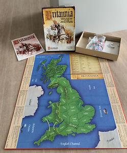 Vintage Britannia Board Game Avalon Hill Bookcase Game Complete Family Game 1987