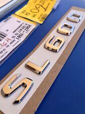 LOGO MERCEDES SL600 600 S SL 55 63 AMG BADGE ORIGINAL A1298171515  W129 OEM