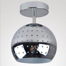 Hallway Aluminum LED Ceiling Lamp Fixtures Bedroom Chandelier Light Chrome Lamp
