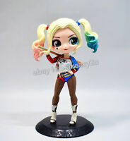 "NEW Qposket Suicide Squad Harley Quinn Ver. Action Figure 6"" Toy with Box"