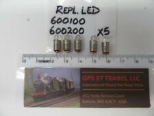 HO - Marklin 600100 / 600200 LED Replacement - Set of 5 - NEW