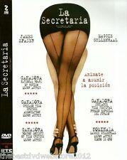 La Secreatria(Secretary (2002) DVD R  |104 min| Comedy, Romance  |James Spader