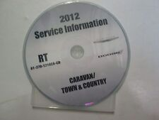 2012 DODGE CARAVAN & CHRYSLER TOWN & COUNTRY Service Shop Repair Manual CD DVD
