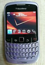 Blackberry Curve 8530 Smartphone Lavender Verizon Bundle New Case & Battery.